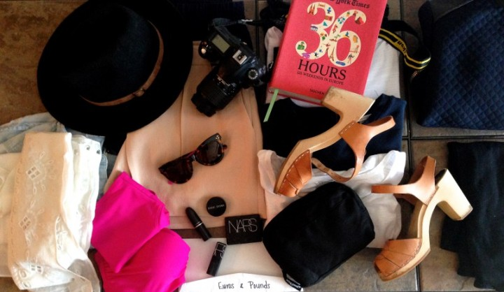 My tips for travelling lightly